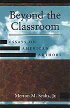 Beyond the classroom : essays on American authors