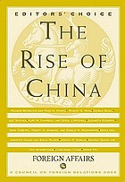 The rise of China.