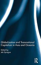 Globalization and transnational capitalism in Asia and Oceania