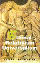 Ethical relativism and universalism