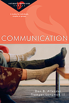 Communication : 6 studies for individuals, couples or groups