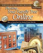 Planting your family tree on-line.