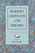 Modern criticism and theory : a reader