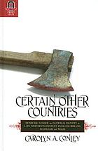 Certain other countries : homicide, gender, and national identity in late nineteenth-century England, Ireland, Scotland, and Wales