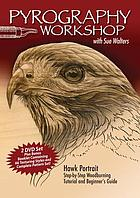Pyrography workbook : hawk portrait
