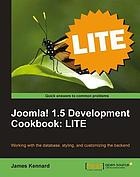 Joomla! 1.5 Development Cookbook LITE.