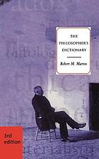 The philosopher's dictionary