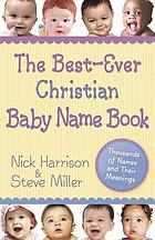 The best-ever Christian baby name book