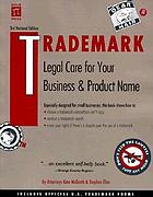 Trademark : legal care for your business & product name