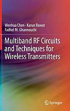 Multiband RF circuits and techniques for wireless transmitters