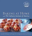 Baking at home with the Culinary Institute of America.