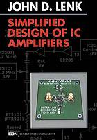 Simplified Design of IC Amplifiers.
