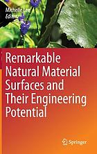 Remarkable Natural Materials and Their Engineering Potential.