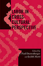 Labor in Cross-Cultural Perspective cover image