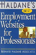 Haldane's best employment websites for professionals