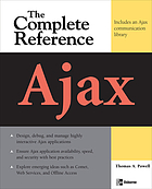 Ajax : the complete reference