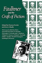 Faulkner and the craft of fiction