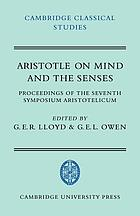 Aristotle on mind and the senses : proceedings