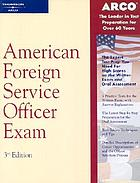 American foreign service officer exam