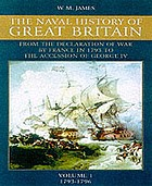 The naval history of Great Britain during the French Revolutionary and Napoleonic Wars / 1 1793-96.