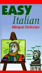 Easy Italian bilingual dictionary