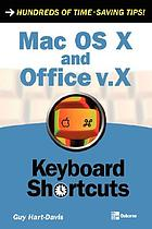 Mac OS X and Office v.X : keyboard shortcuts