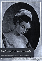 Old English mezzotints;