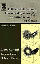 Differential equations, dynamical systems, and an introduction to chaos.