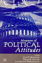 Measures of Political Attitudes cover image