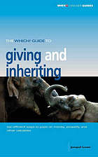 The Which? guide to giving and inheriting