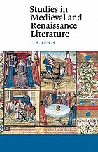 Studies in medieval and Renaissance literature.