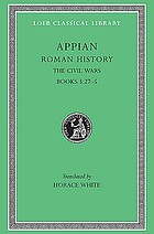 Appian's Roman history : with an English translation