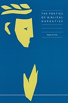 The poetics of biblical narrative