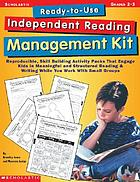 Ready to use independent reading management kit