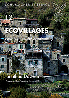 Ecovillages : new frontiers for sustainability