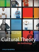Cultural theory : an anthology