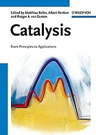 Catalysis : from principles to applications
