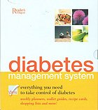 Diabetes management system : everything you need to take control of diabetes