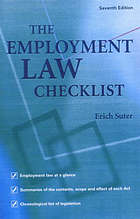 The employment law checklist