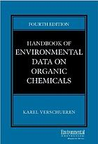 Handbook of environmental data on organic chemicals/ 1.
