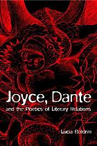 Joyce, Dante, and the poetics of literary relations : language and meaning in Finnegans wake