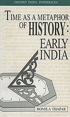 Time as a metaphor of history : early India
