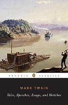Tales, speeches, essays, and sketches