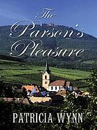 The parson's pleasure
