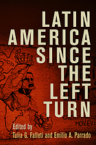 Latin America since the left turn