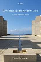 Divine teaching and the way of the world : a defense of revealed religion