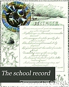 The school record : a monthly journal of education, art, music.