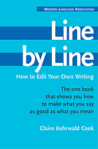 Line by line : how to edit your own writing