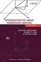 Introduction to linear regression analysis.