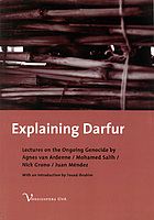 Explaining Darfur : four lectures on the ongoing genocide
